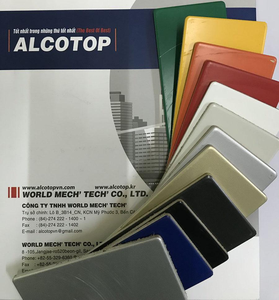 Tấm alu Alcotop